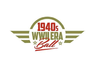 1940's WWII Era Ball Event Publicity