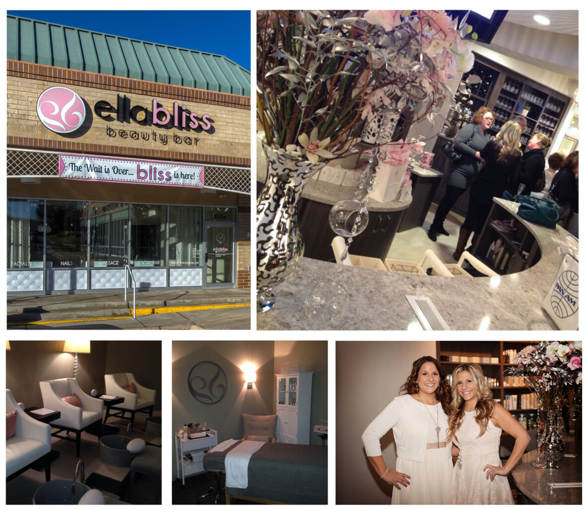 Ella Bliss Beauty Bar celebrates its grand opening.