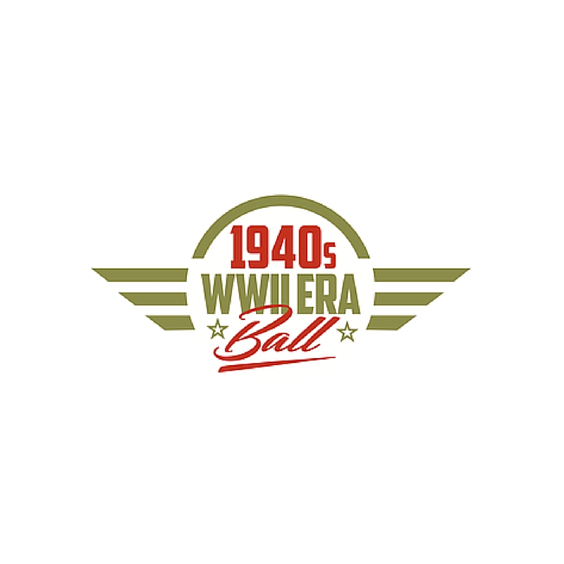 1940's WWII Era Ball logo