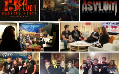 Halloween Spooktacular With 13th Floor and The Asylum Haunted Houses