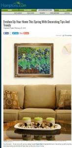 Image of Spring Decorating article Hamptons.com
