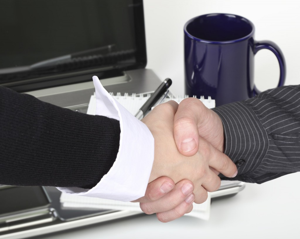 reporter handshake